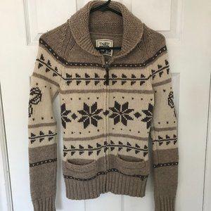 Ladies TNA Lambs Wool Knit Sweater